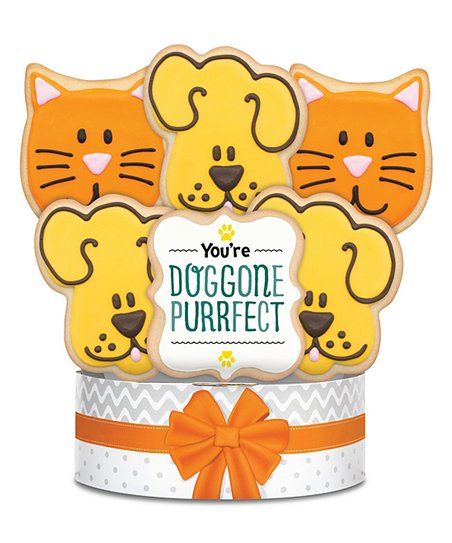 You re purrfect clipart clip art royalty free Corsos Cookies Youre Doggone Purrfect Cookie Bouquet   Zulily clip art royalty free