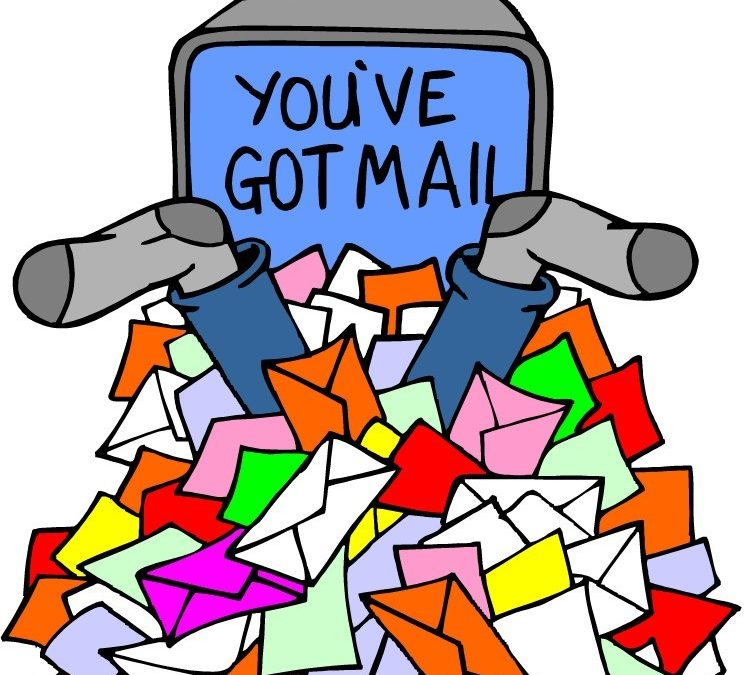 You ve got mail clipart stock You\'ve Got Mail....Lots of it! - Your Organized Life stock