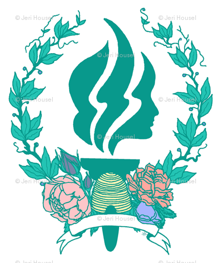 Young women s torch clipart clip free Young Women Torch and Insignia WHITE wallpaper ... clip free