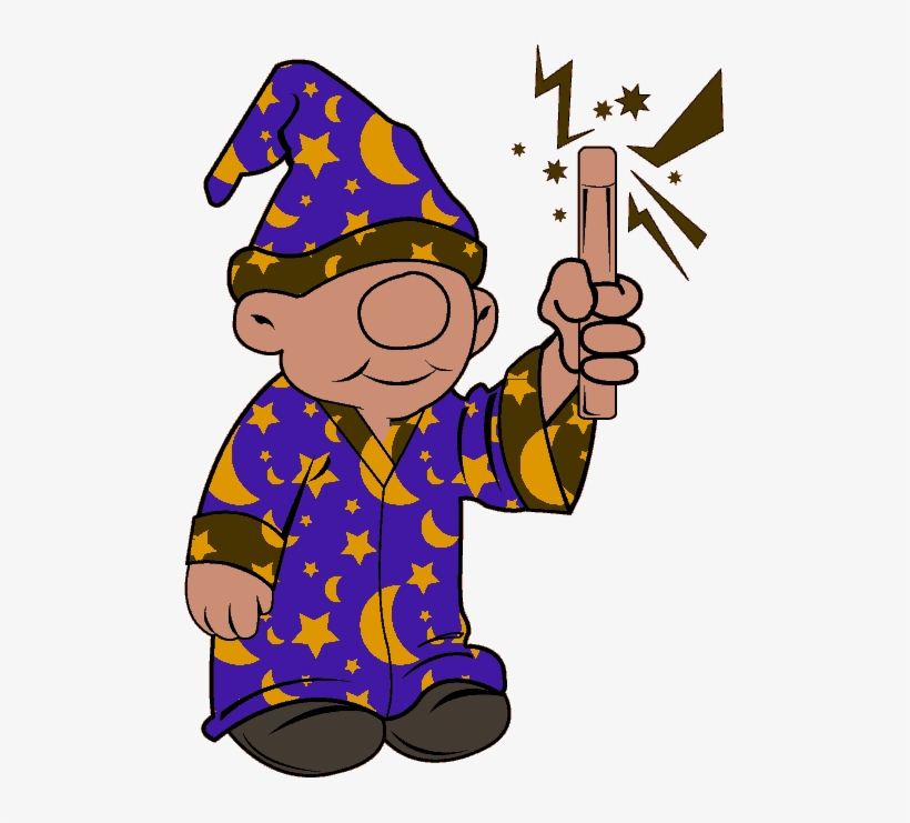 Youngwizard clipart png library Cute Little Wizard - Clip Art Young Wizard - Free ... png library