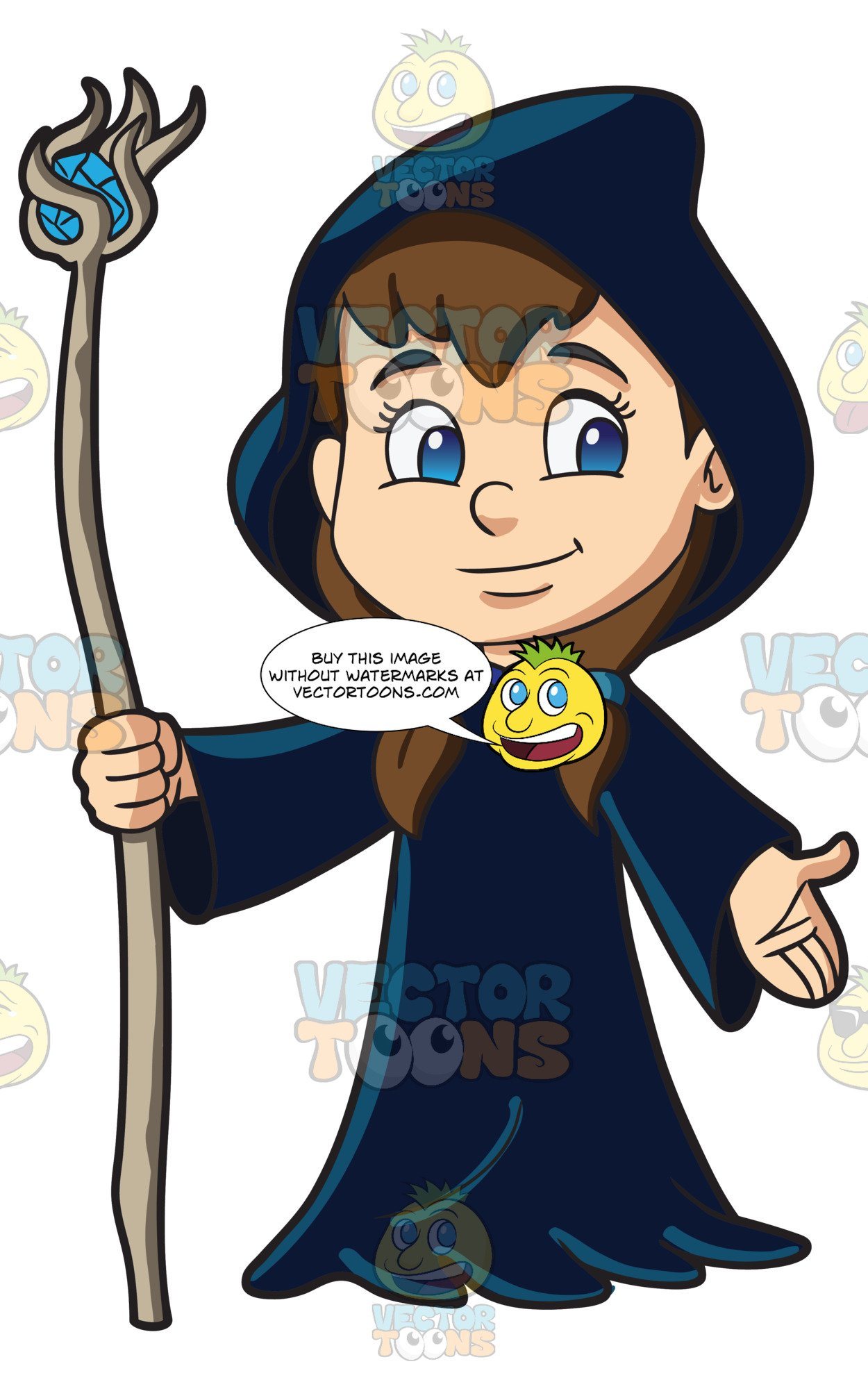 Youngwizard clipart svg freeuse library A Cute Girl Dressed As A Wizard svg freeuse library