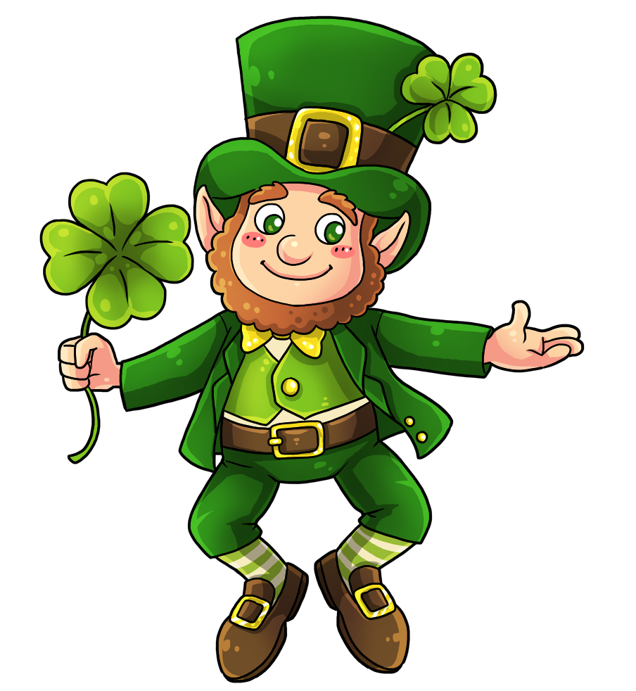 Pizca clipart clip library stock This cute and adorable leprechaun clip art is great for use ... clip library stock
