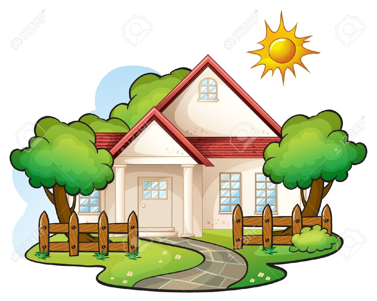House hd clipart image library Image Of A House | Free download best Image Of A House on ... image library