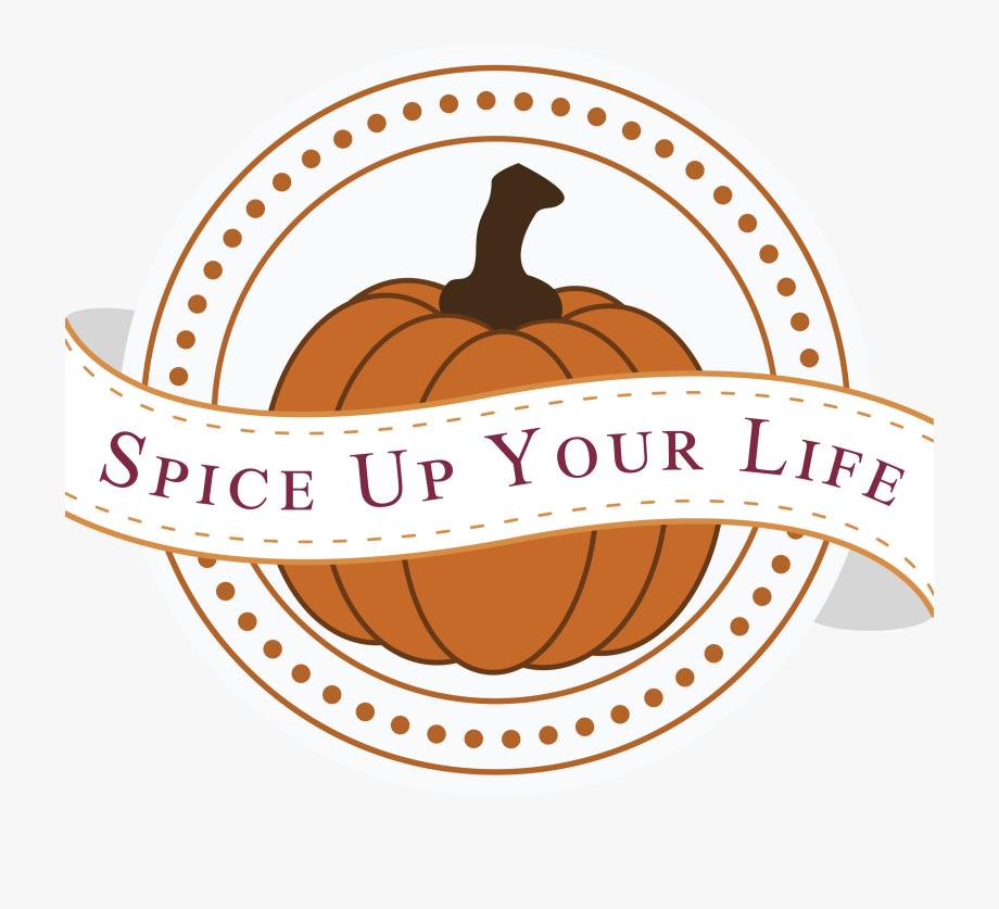 Your life clipart jpg black and white library Pumpkin Spice Up Your Life - Bhai Dooj Design #1232151 ... jpg black and white library