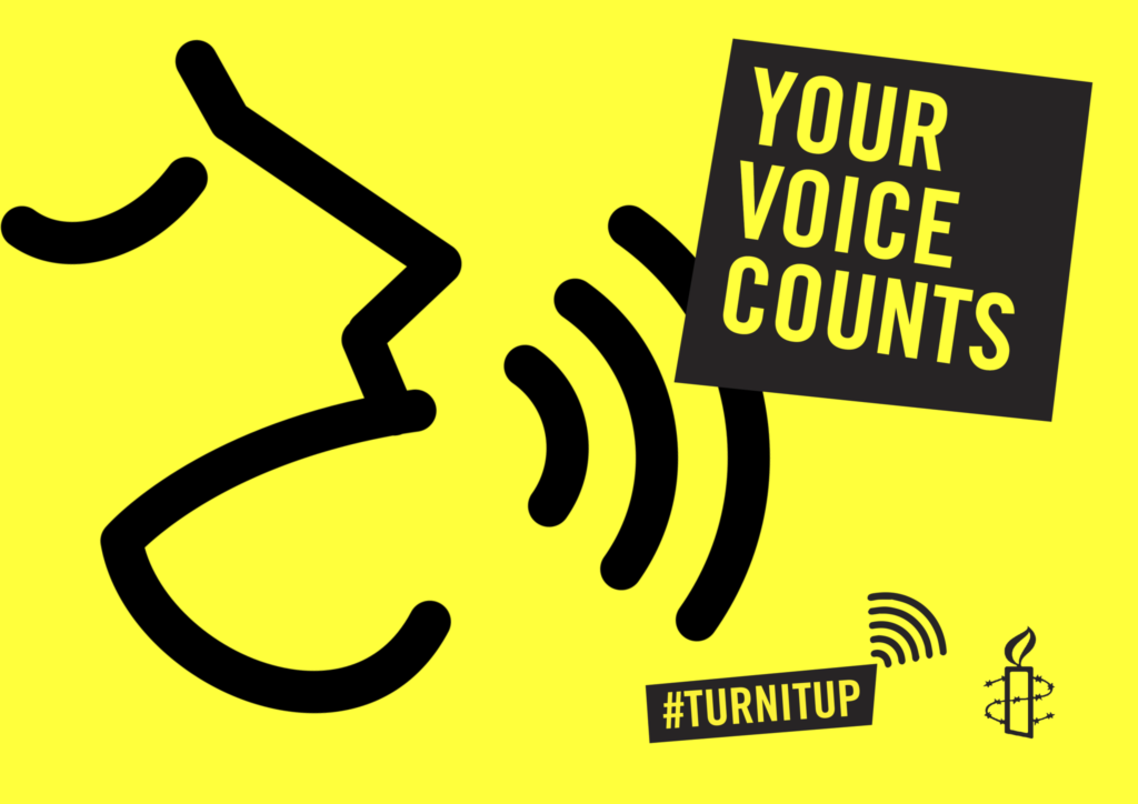 Your voice counts clipart banner freeuse 5 reasons to raise your voice for a fairer Europe - Amnesty ... banner freeuse