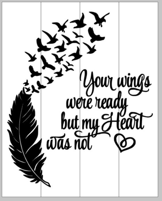 Wings were ready heart was not clipart svg royalty free download Remembrance – Pallets by deSIGN svg royalty free download