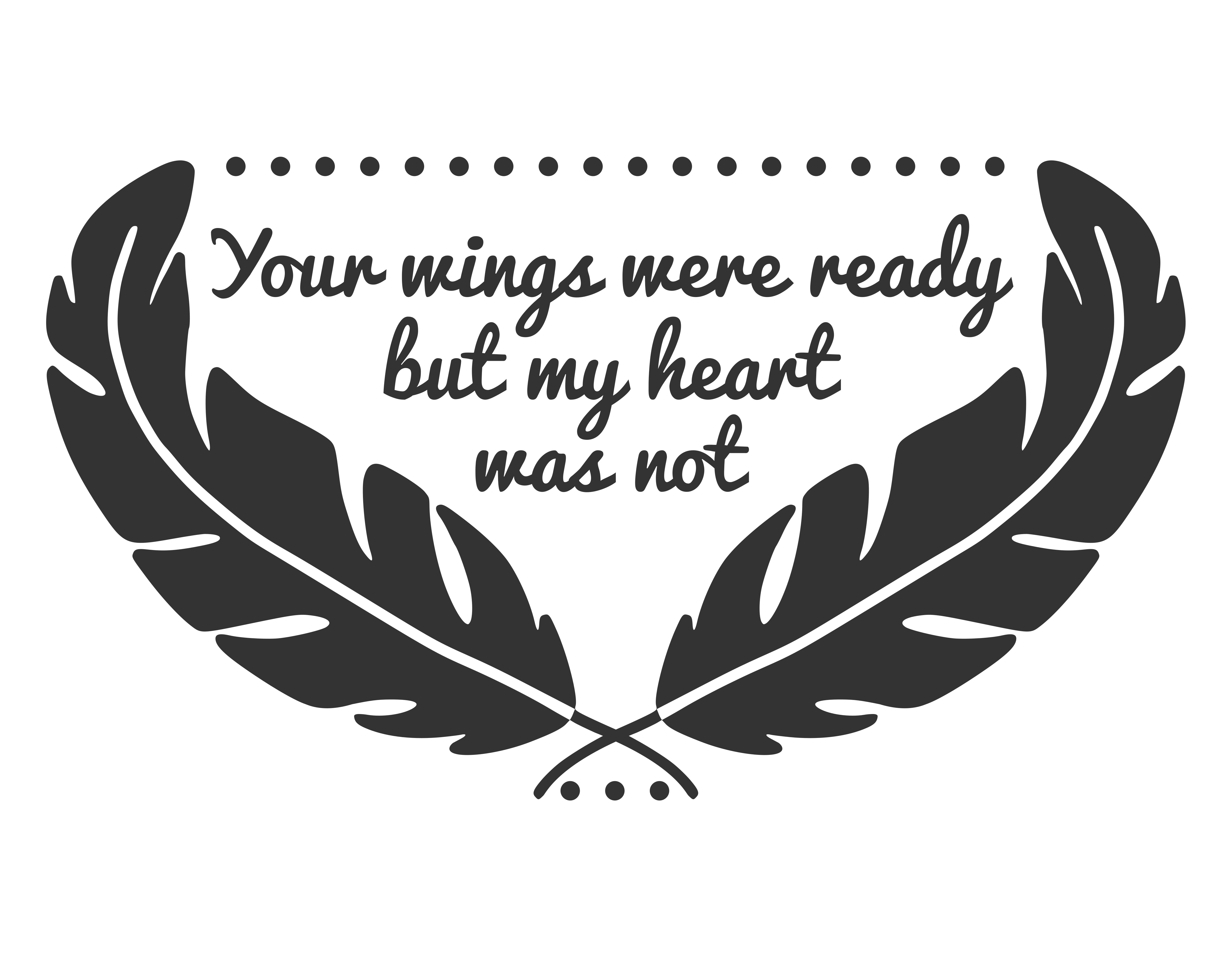 Your wings were ready but our heart was not clipart banner black and white library Your wings were ready svg, your wings were ready but our hearts were not  svg, your wings were ready but my heart was not svg, svg files, svg banner black and white library