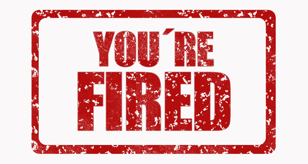 Youre fired clipart banner free library Hey DJ, You\'re Fired!\