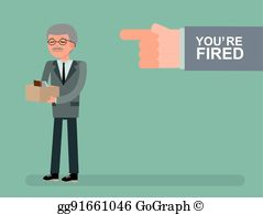 Youre fired clipart clip freeuse Youre Fired Clip Art - Royalty Free - GoGraph clip freeuse