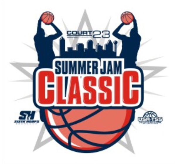 Youth basketball camp clipart image transparent library COURT 23 & Sista\' Hoops Dallas Summer Jam Classic Logo ... image transparent library