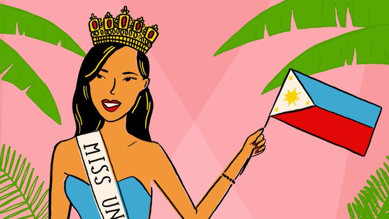 Youth beauty queen being crowned clipart download Why The Philippines Dominates World Beauty Pageants download