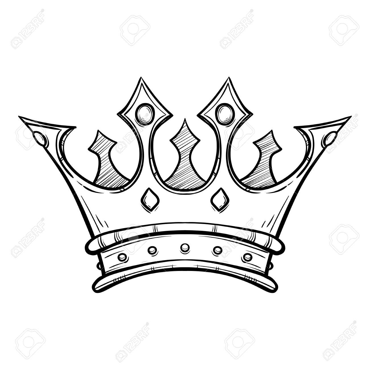 Youth beauty queen being crowned clipart svg royalty free download Stock Vector   Crown   Crown tattoo design, Tattoo drawings ... svg royalty free download