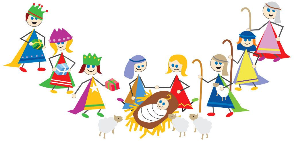 Youth christmas religious clipart clip library Here is a simple kids Christmas skit for church. You can ... clip library