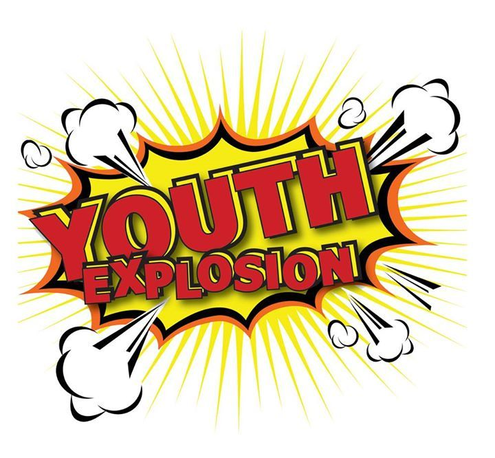 Youth explosion clipart image free stock Beyond the Walls 2016 Youth Explosion   youth explosion ... image free stock