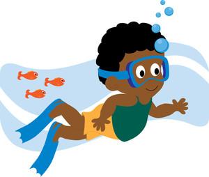 Kids swim clipart vector transparent stock Kids Swimming Clipart | Clipart Panda - Free Clipart Images vector transparent stock