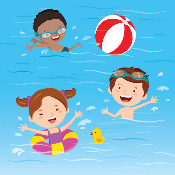 Kids swimming clipart free jpg library library Kids Stretching Clipart (97+ images in Collection) Page 1 jpg library library