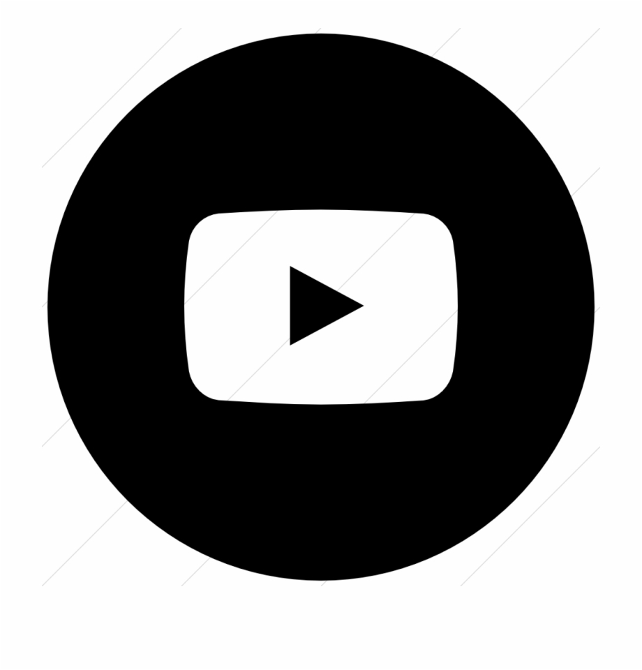 Youtube clipart black and white graphic free library Youtube App Logo Black And White Pictures To Pin On - Gmail ... graphic free library