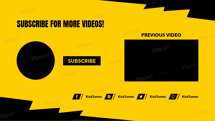 Youtube end cards clipart freeuse Youtube End Card Template - Mahtec.info freeuse