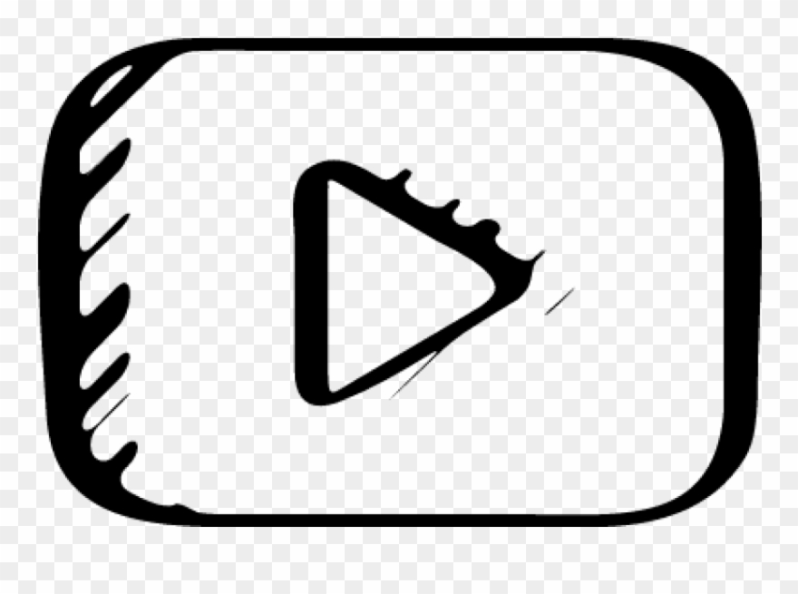 Youtube logo clipart download clipart library library Free Png Download Youtube Logo Sketch Png Images Background ... clipart library library