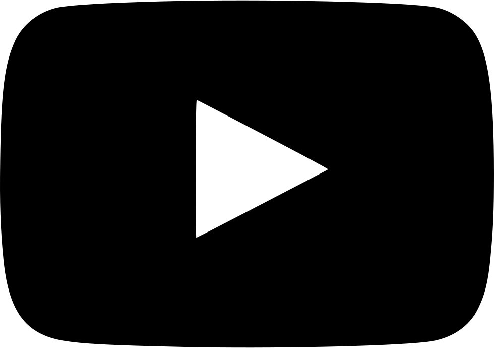 Youtube white clipart clip library YouTube Play Button Computer Icons Black and white Clip art ... clip library