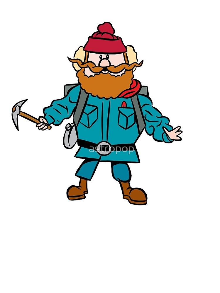 Yukon cornelius clipart free stock Rudolph the Red-Nosed Reindeer Yukon Cornelius | Metal Print free stock