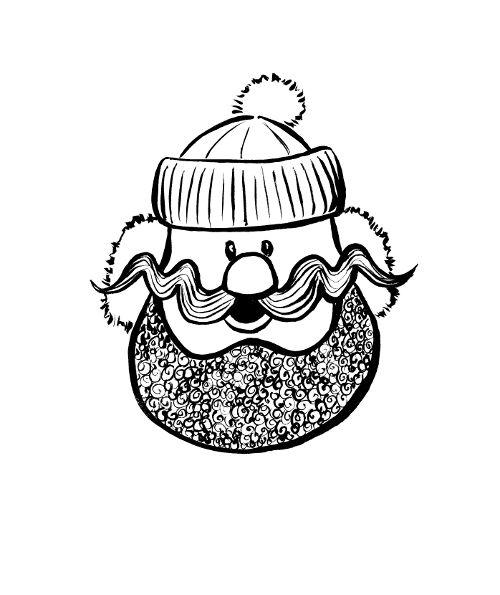 Yukon cornelius clipart graphic black and white Yukon Cornelius from Rudolph cartoon. This would make a cute ... graphic black and white