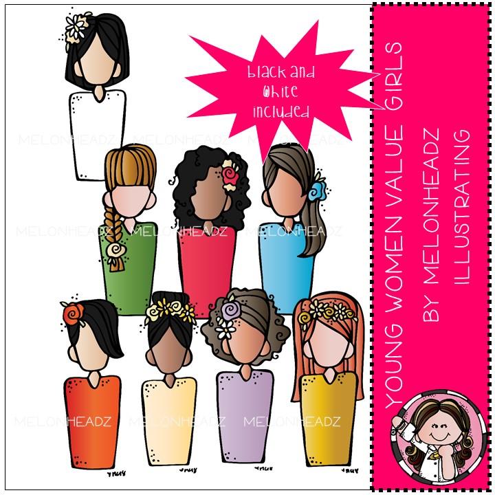 Yw values clipart freeuse Melonheadz LDS illustrating: Latter Day Saints sets freeuse