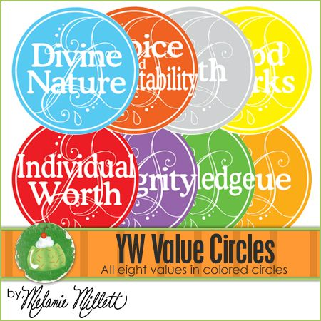 Yw values clipart vector free download YW Value Circles Clipart | YW- Personal Progress | Young ... vector free download