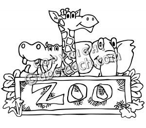 Z00 clipart black and white picture library library Zoo clipart black and white 2 » Clipart Station picture library library