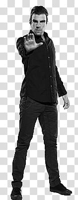 Zachary quinto clipart vector black and white Zachary Quinto transparent background PNG clipart | HiClipart vector black and white