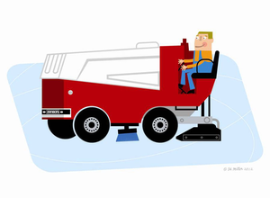 Zamboni clipart png black and white library Clipart Zamboni   Free Images at Clker.com - vector clip art ... png black and white library