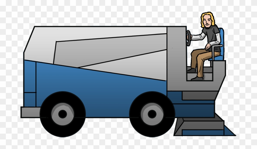 Zamboni clipart png library library Create Your Own Big Game Halftime Disaster Scenario ... png library library
