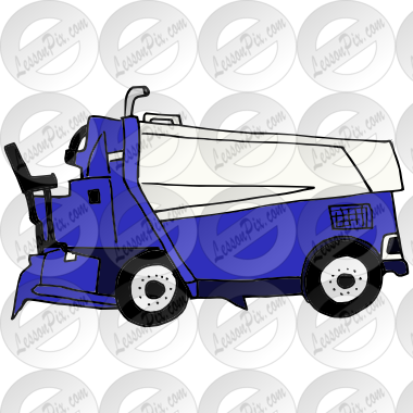 Zamboni clipart clipart royalty free download Zamboni Picture for Classroom / Therapy Use - Great Zamboni ... clipart royalty free download