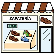 Zapateria clipart vector transparent stock 41 Best de compras tiendas shopping images in 2017   Spanish ... vector transparent stock
