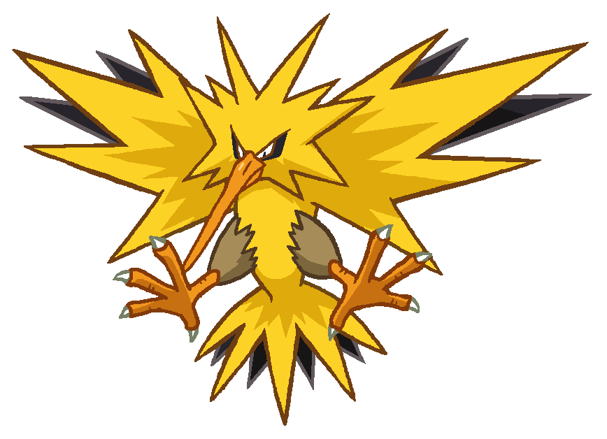 Zapdos clipart png free Tree Line clipart - Yellow, Leaf, Flower, transparent clip art png free
