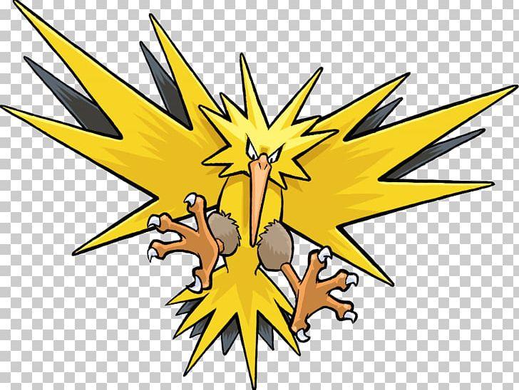 Zapdos clipart banner freeuse stock Pokémon GO Legendary Bird Trio Zapdos PNG, Clipart, Animals ... banner freeuse stock