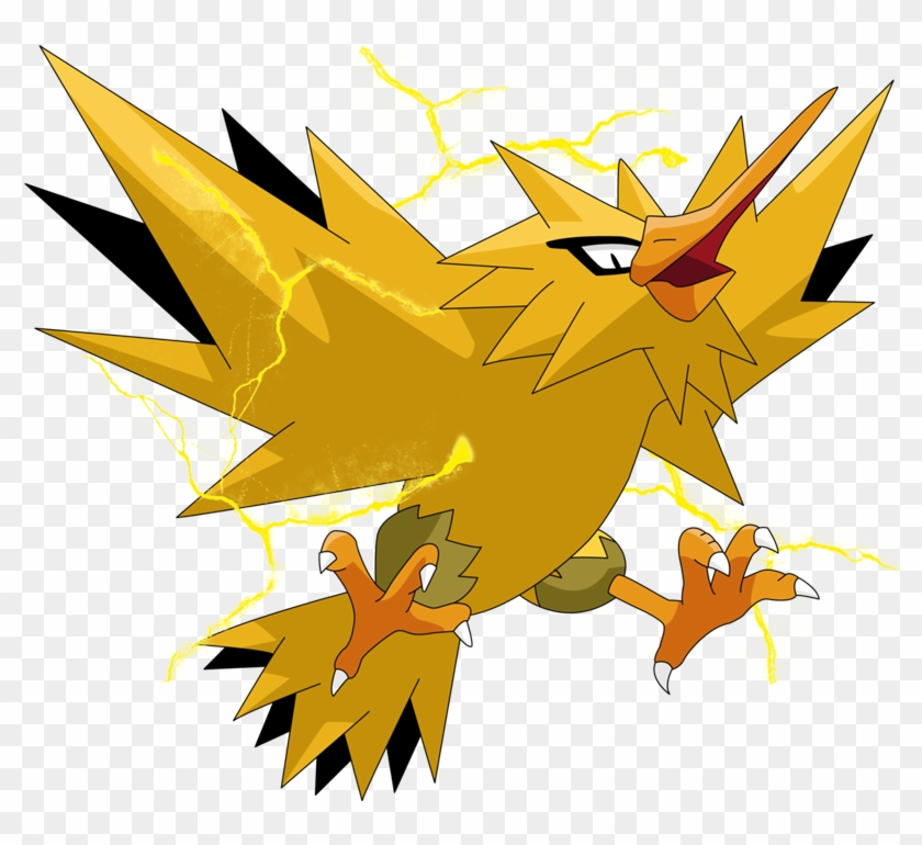 Zapdos clipart freeuse library Shiny Zapdos - Zapdos Pokemon Png, Transparent Png - 800x690 ... freeuse library