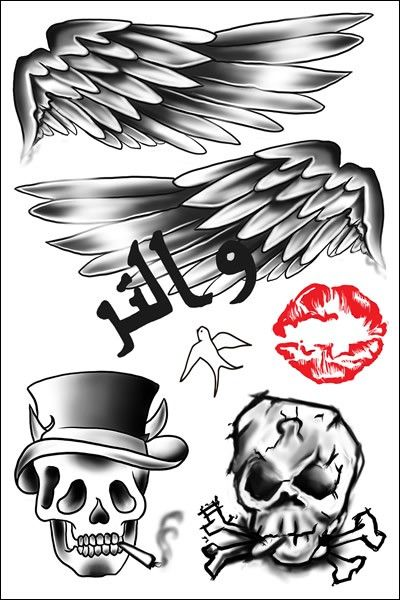 Zayn malik tattoo clipart png transparent Zayn Malik Temporary Tattoos by Popstartats.com | Zayn Malik ... png transparent