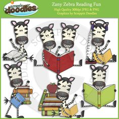 Zebra at school clipart picture transparent library 10 Best Zebra Clip Art images in 2015 | Zebra clipart, Clip ... picture transparent library