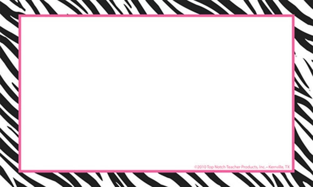 Zebra clipart banner clip art free library Free Zebra Border Cliparts, Download Free Clip Art, Free ... clip art free library