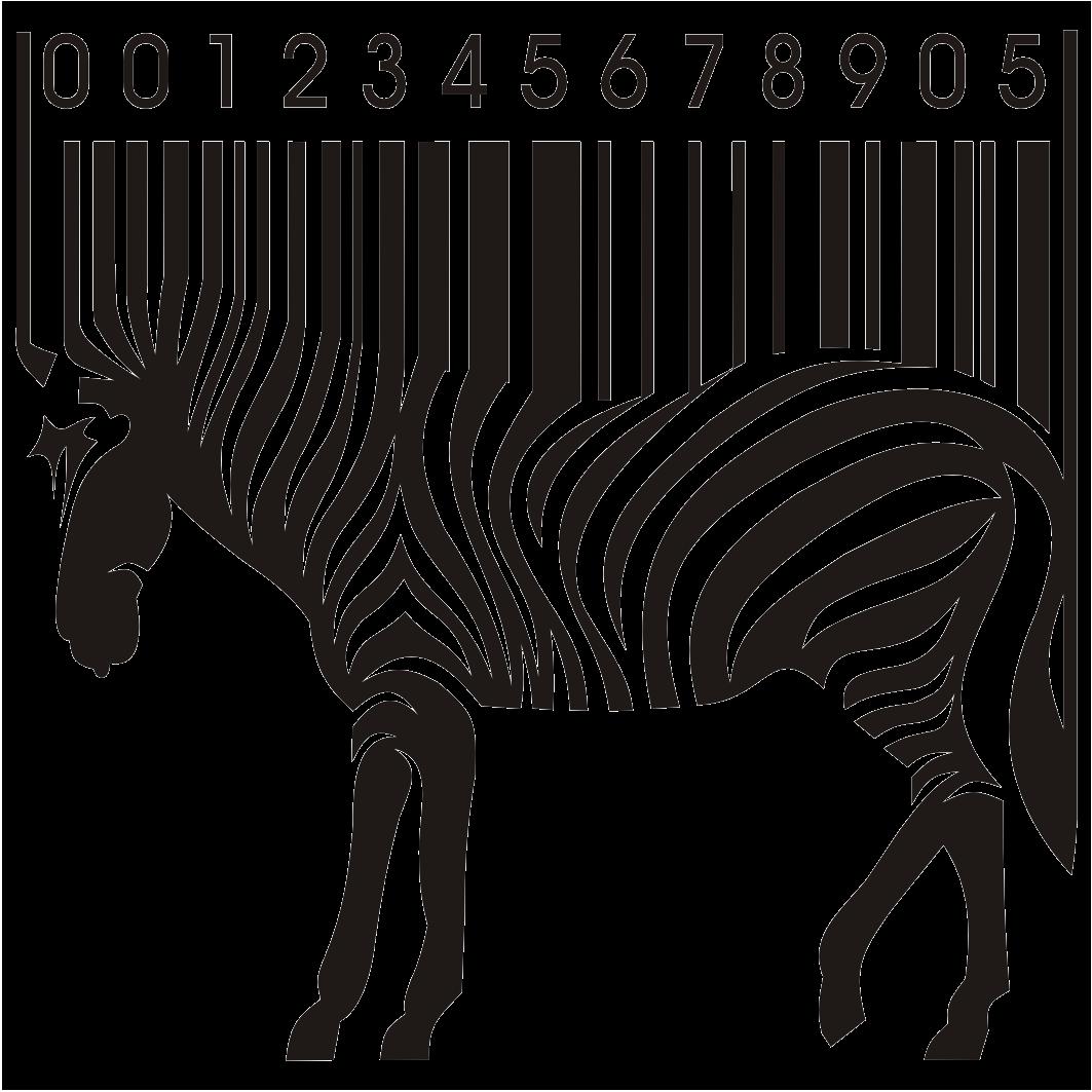 Zebra holding money clipart banner black and white download Codigos de barras.jpg | karikatür-cps | Pinterest | Barcode art banner black and white download