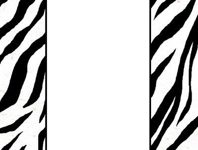 Zebra stripe star clipart png transparent download Free Free Zebra Print Border, Download Free Clip Art, Free ... png transparent download