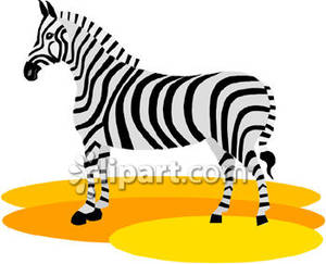 Zebra simple clipart image library library Simple Zebra - Royalty Free Clipart Picture image library library