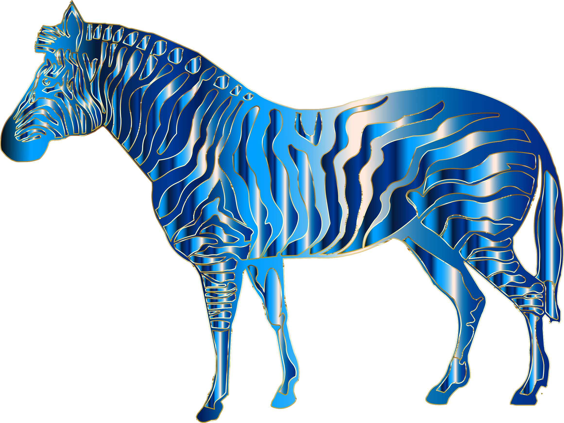 Zebra star clipart clip royalty free library Aquamarine Zebra Icons PNG - Free PNG and Icons Downloads clip royalty free library