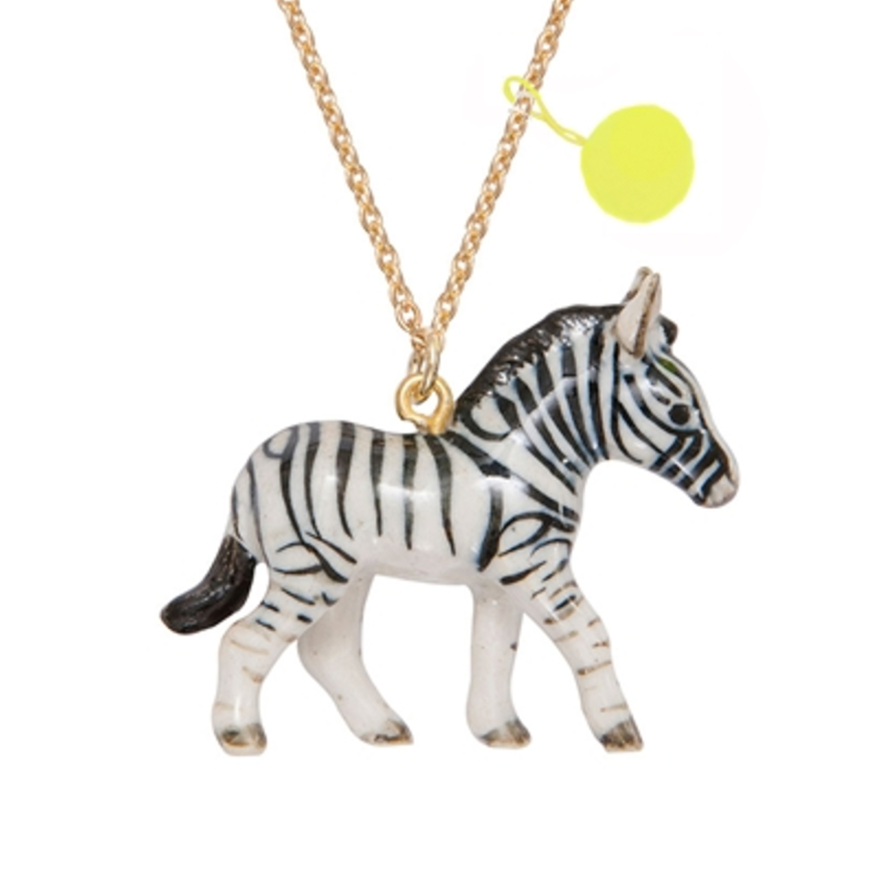 Zebra wearing jewelry clipart
