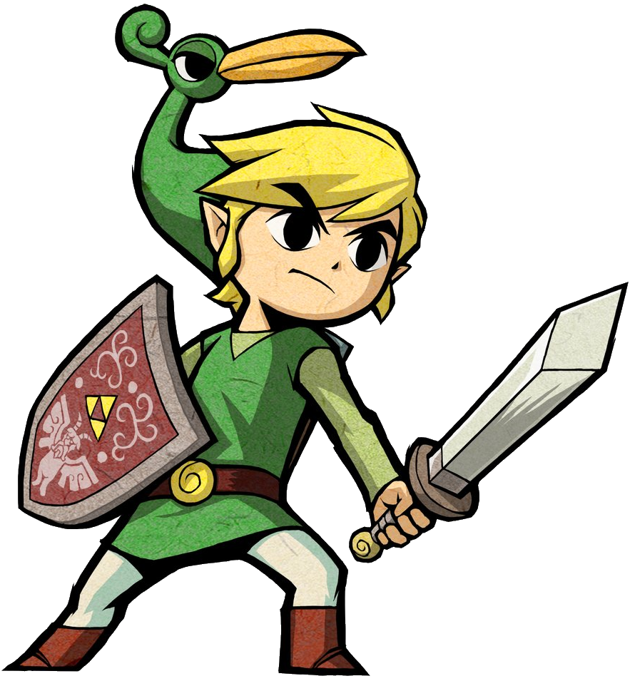 Zelda characters birthday clipart clipart black and white download Link (Minish Cap) | Character Profile Wikia | FANDOM powered ... clipart black and white download