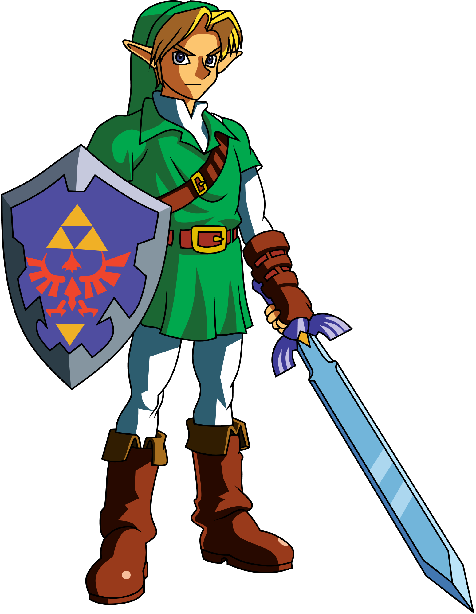 Zelda ocarina clipart picture freeuse download Link (Ocarina of time) clipart | Zelda Ocarina Of Time ... picture freeuse download