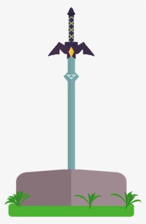 Zelda mastersword clipart freeuse Master Sword PNG Images | PNG Cliparts Free Download on SeekPNG freeuse