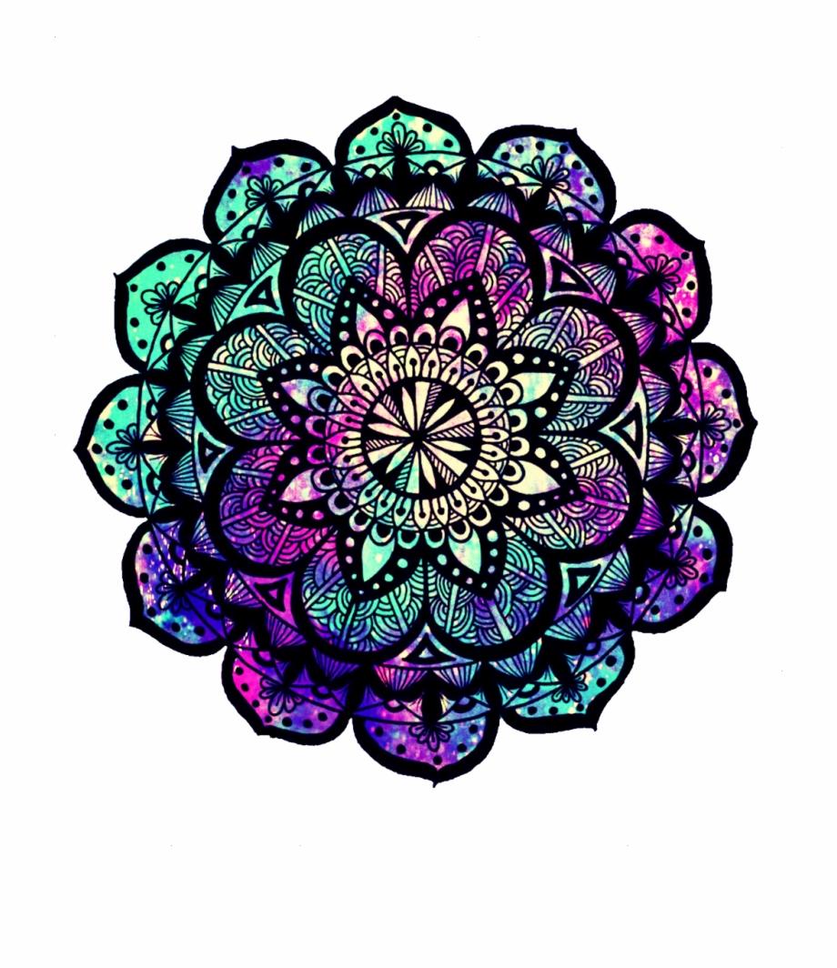 Zen flower clipart jpg stock ftestickers #mandala #pattern #zen #flowers #floral ... jpg stock