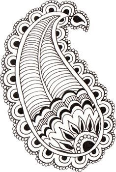 Zentangle art clipart graphic library download How To Draw Flowers Step By Step For Beginners - ClipArt ... graphic library download